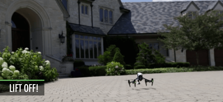 drones in the real estate