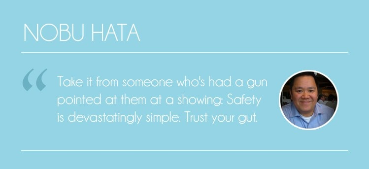 nobu hata on realtor safety