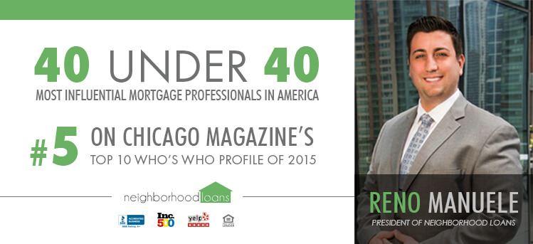 reno manuele 40 under 40 most influential mortgage professionals
