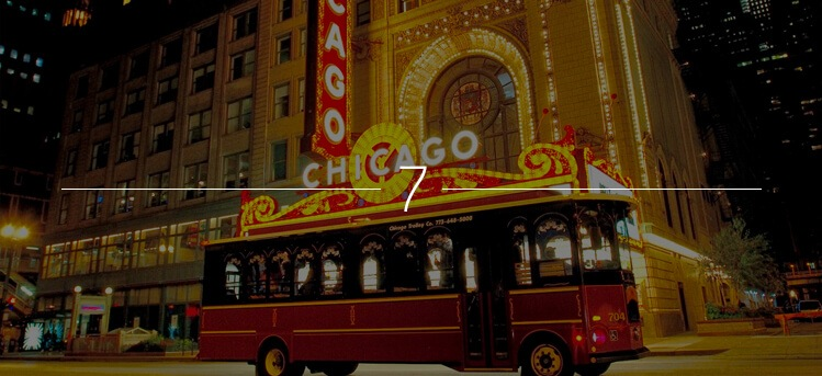 The Chicago Trolley Holiday Lights Tour