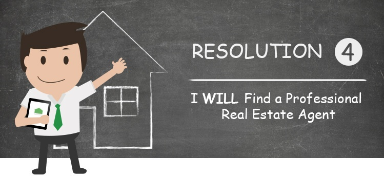 find a professional realtor when buying your first home