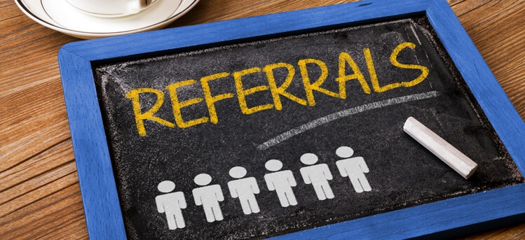 getting referral business in real estate
