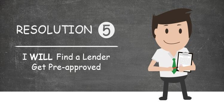 find a lender to get mortgage when buying your first home