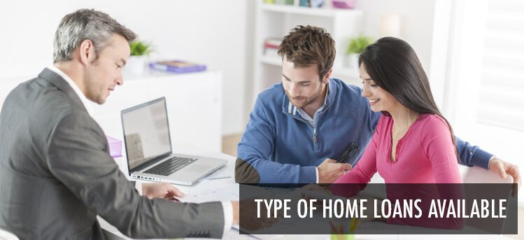 different home loan types