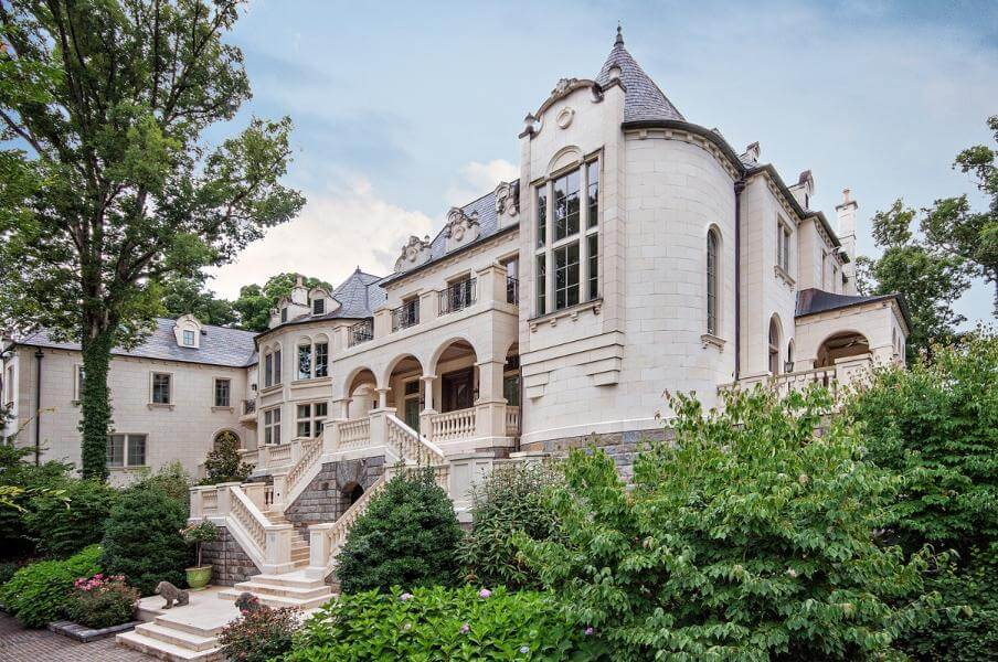 32. French Chateau in North Carolina