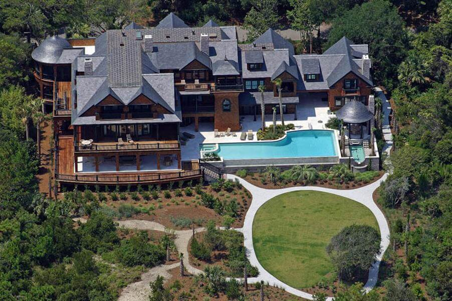 34.Fully-Furnished South Carolina Mansion