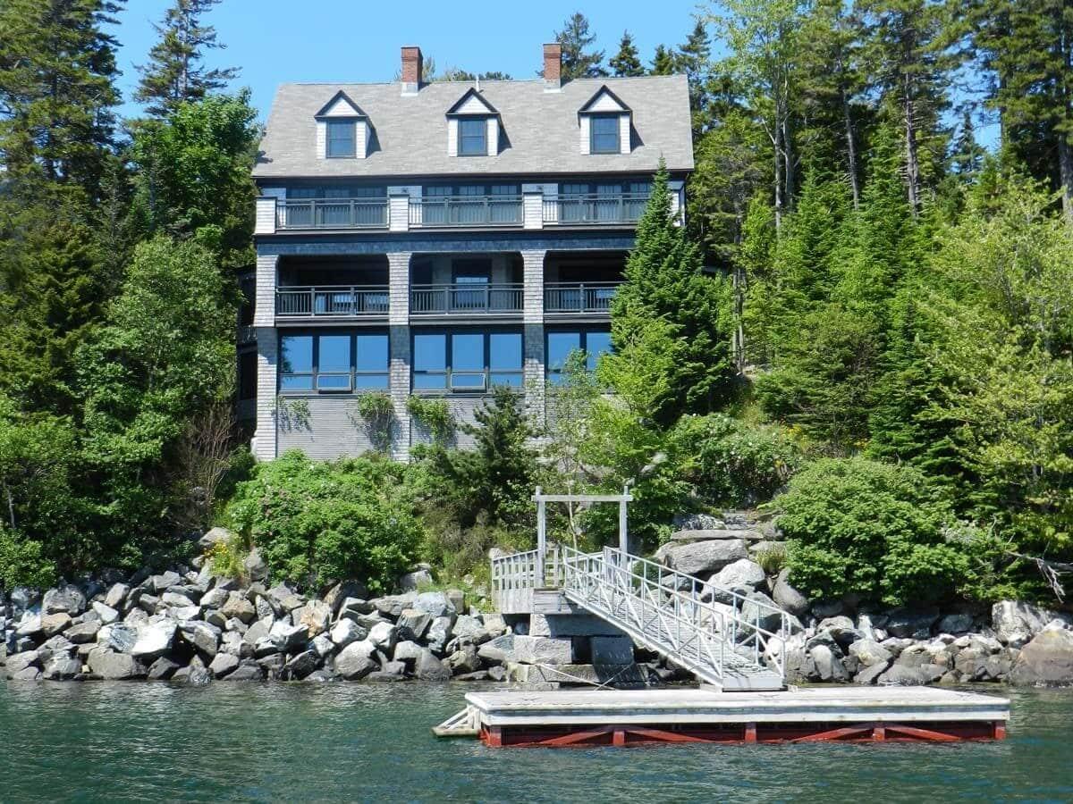 72. Maine Harbor Home