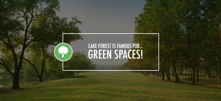 green spaces in lake forest, il