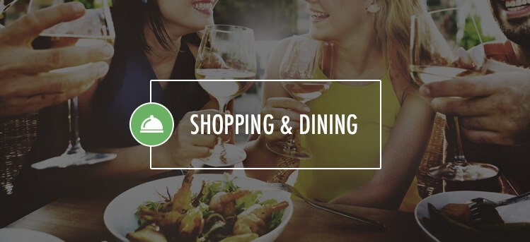 shopping and dinning in lombard