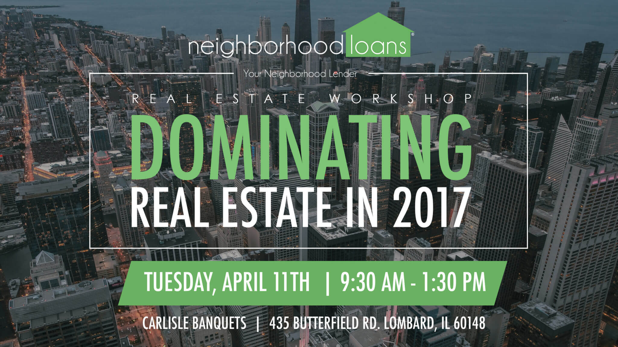 dominate real estate with neighborhood loans