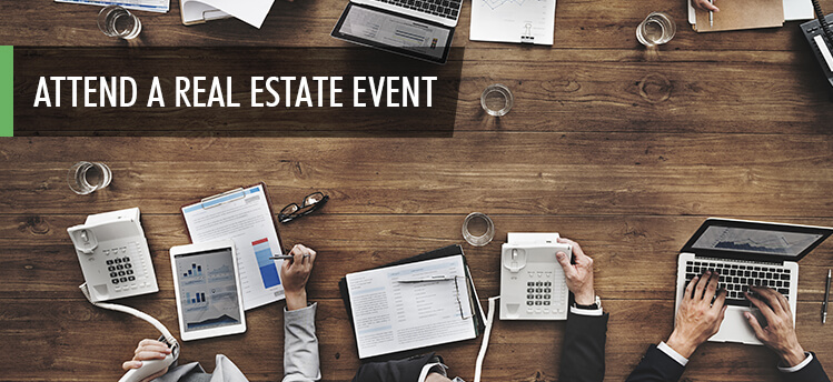 real estate marketing event