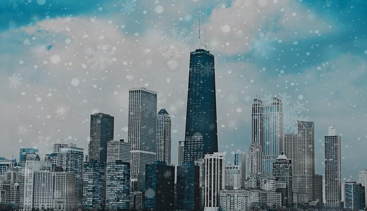 winter chicago