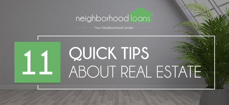 11 Quick tips about real estate
