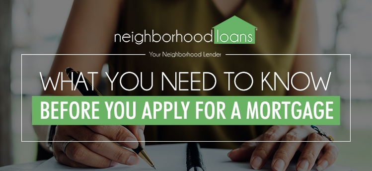 What you need to know before you apply for a mortgage