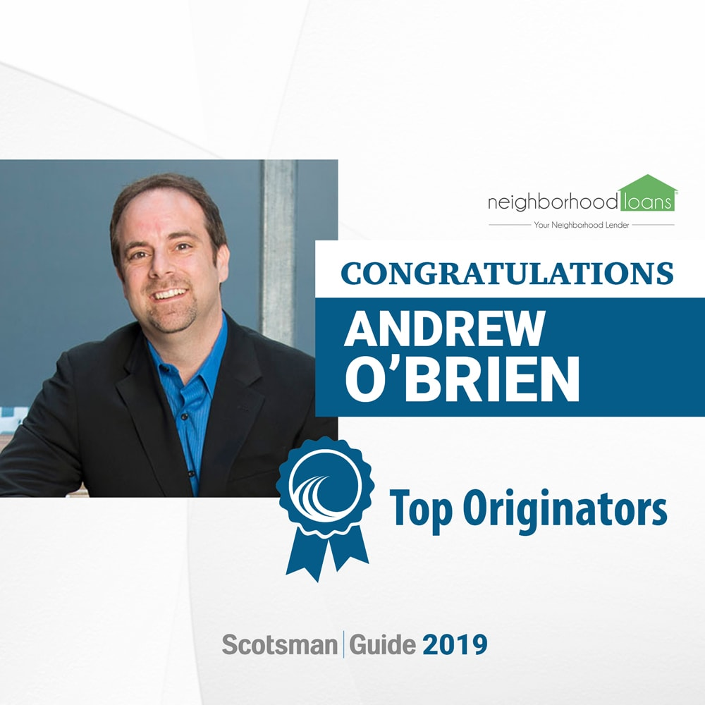 Andy O'Brien of Neighborhood Loans Awarded in Scotmans Guide 2020