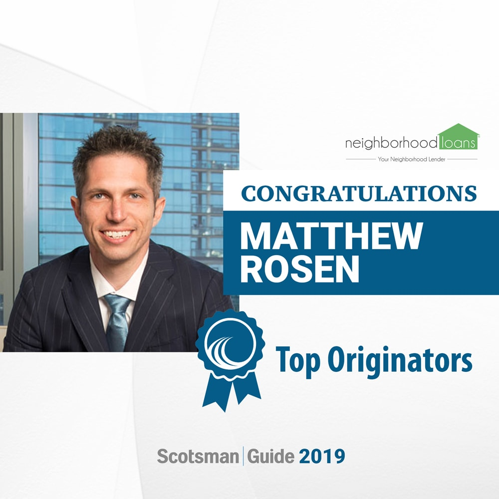 Matt Rosen of Neighborhood Loans Awarded in Scotmans Guide 2020